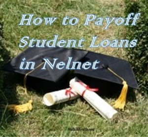 how to pay off student loan debt quickly