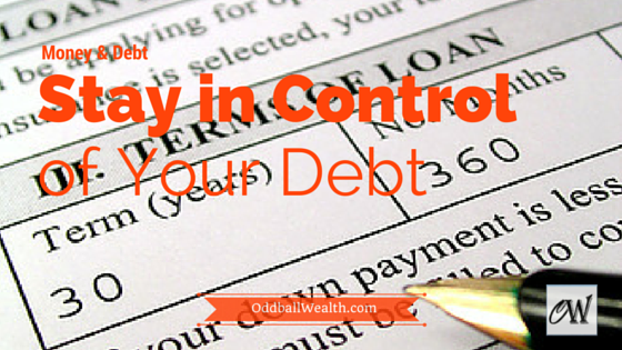 Controlling loans and debt