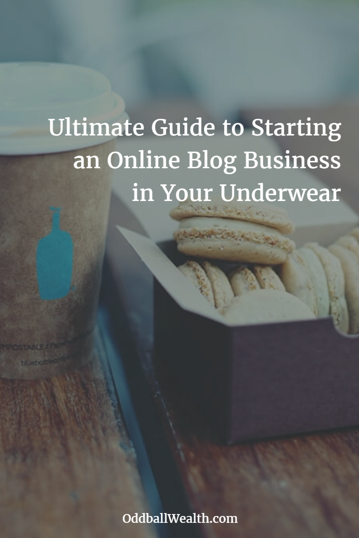 Ultimate Guide to Starting an Online Blog Business in Your Underwear